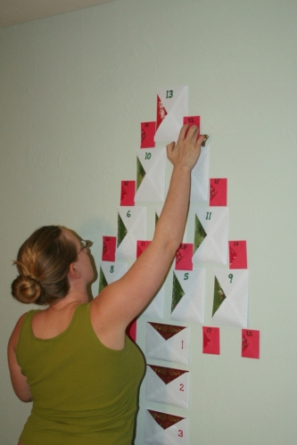 Adent Calendar construction