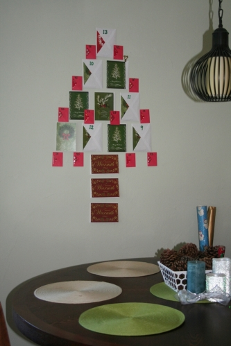Dining Room Advent Calendar