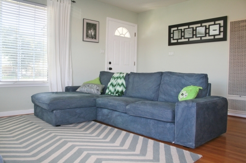 New rug and couch