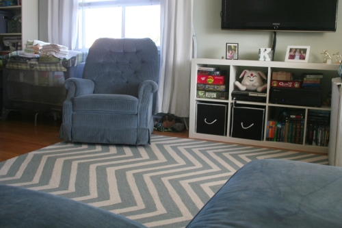 New rug and chair