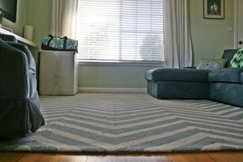 New rug and window