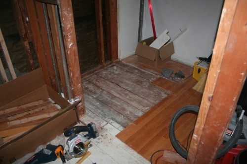 Shower subfloor
