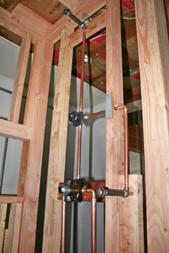Shower plumbing 2