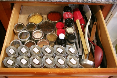 Spice drawer 2