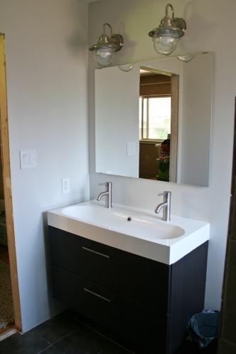 Functioning Bathroom Sink The Letter K