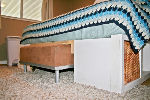Storage Bench For The Foot Of The Bed The Letter K