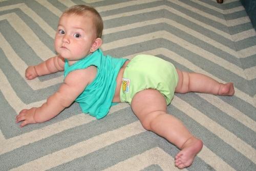 Diaper fit back