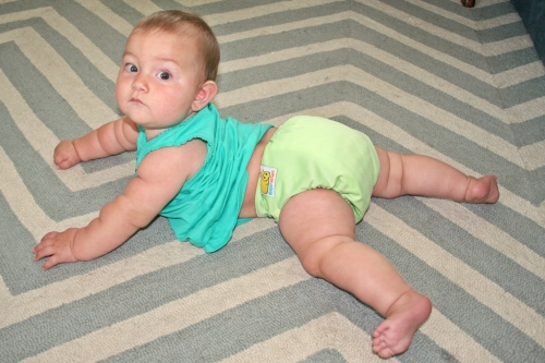 Diaper fit back