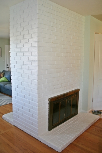 painted fireplace 3