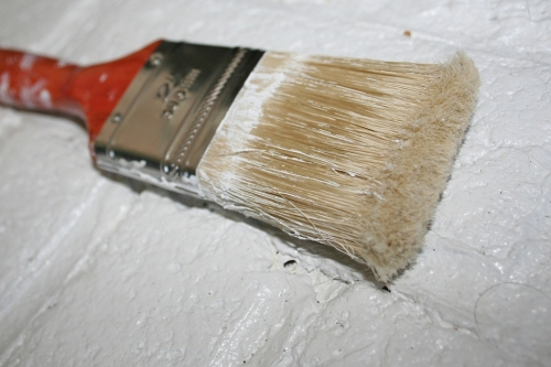 dead paintbrush