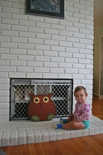 baby friendly fireplace