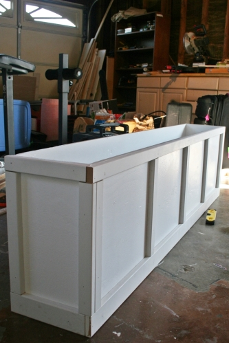 Bench trim