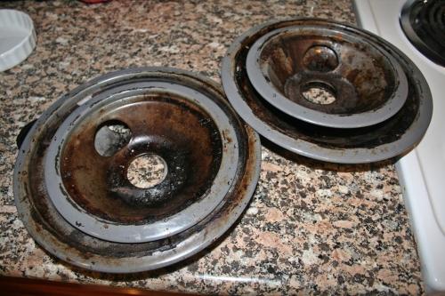 Gross drip pans