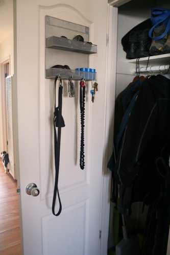 Coat closet hooks