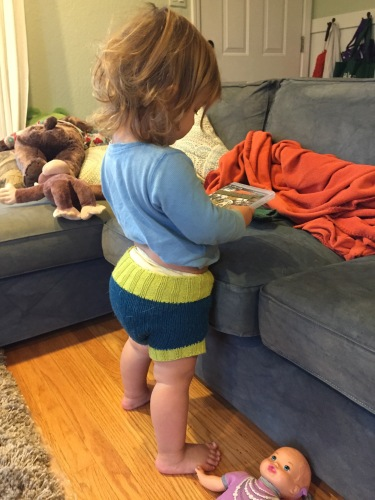 Diaper cover back