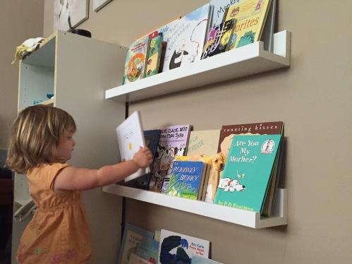 Kid shelves